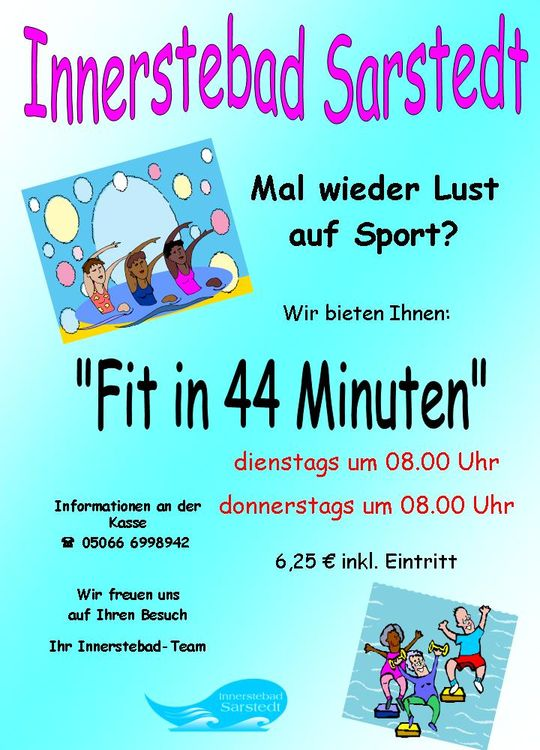 Aktionspreise fit in 44 Minuten