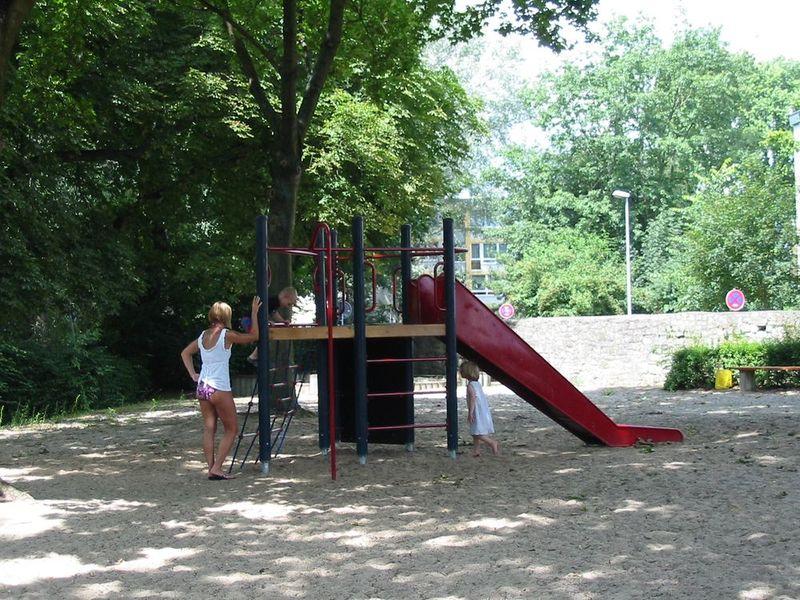 Spielplatz Freibad