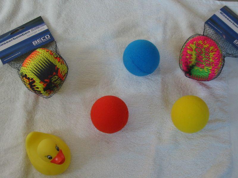 Wasserbombenbälle