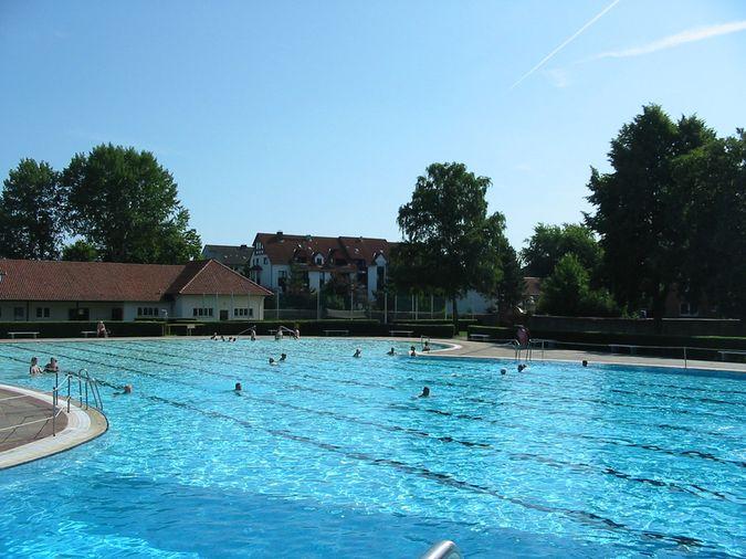 Freibad Schwimmerbereich